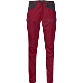 Bergans Utne Pants Women red/solid charcoal
